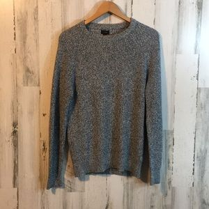 J. Crew Thick Knitted Blue Sweater
